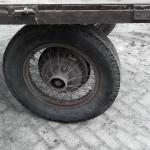 Vrachtwagenwiel met spaken